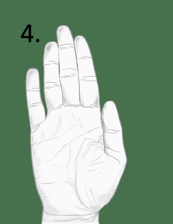 water type hand