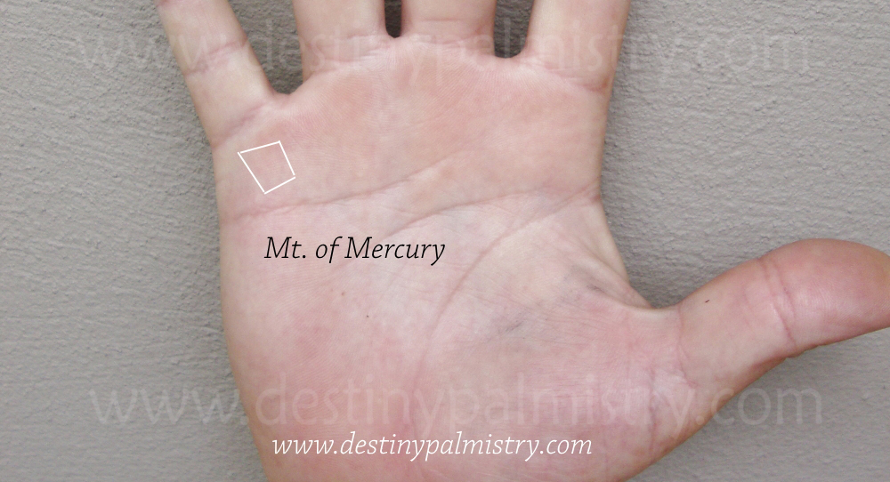 square on the mount of Mercury