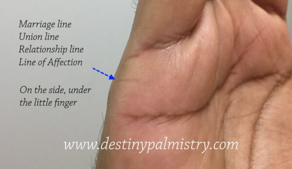 timing of marriage in palmistry