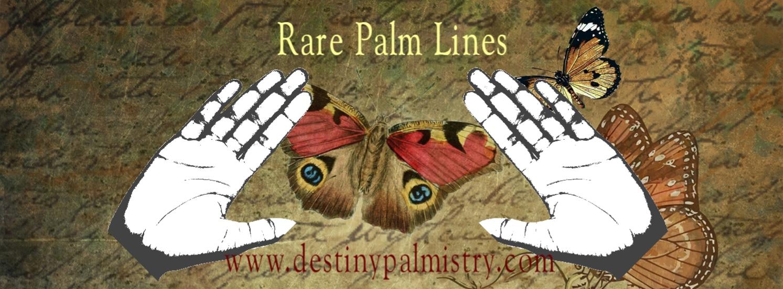 rare palm lines